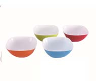 WH-983 two-tone small square bowl