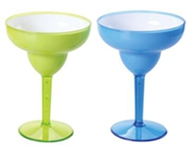 WH-190X two-tone margarita glass