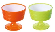 WH-1243 two-tone ice cream bowl
