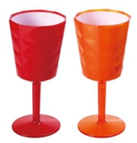 WH-1242 two-tone wine glass